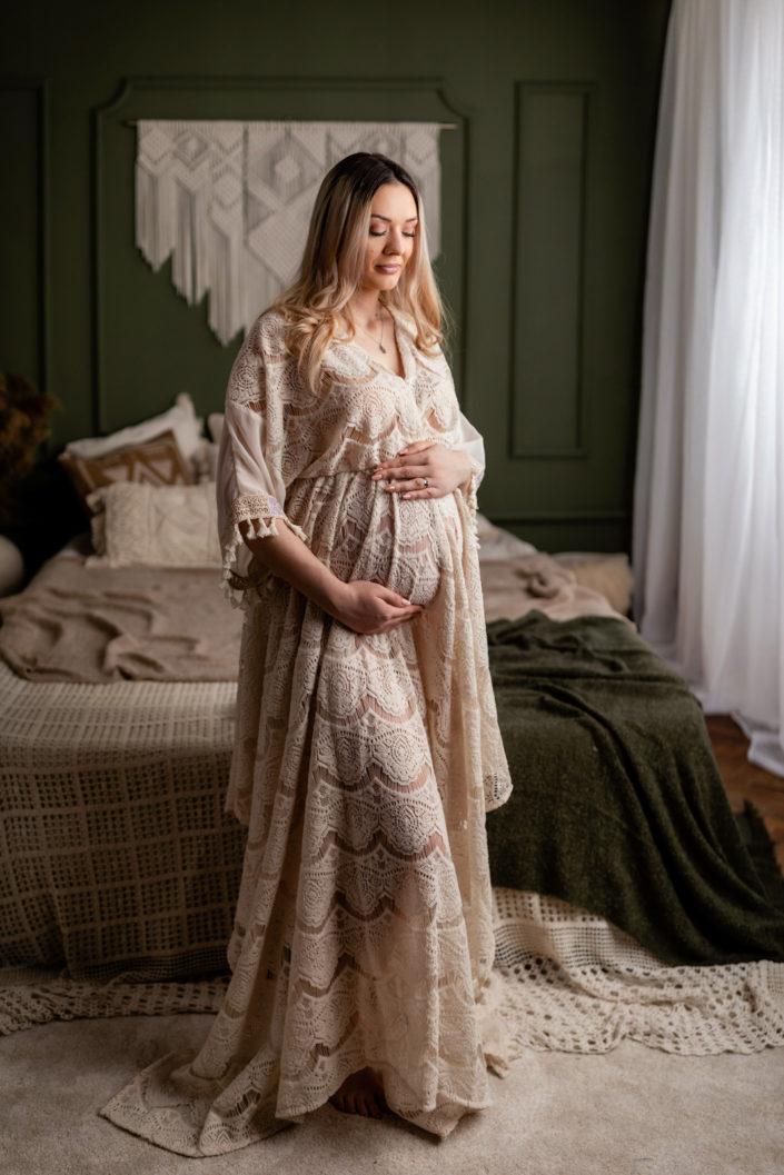 Sedinta foto gravide Bucuresti - Maternity - Sedinta foto maternitate Boho